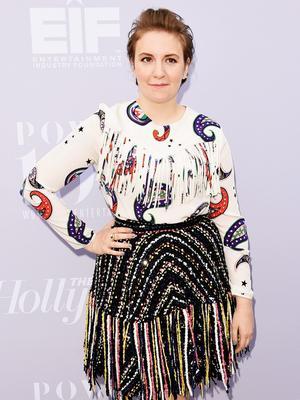 The Cool Italian Designer Lena Dunham Wore on the Red Carpet