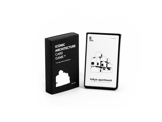 L. Calafat for Cinqpoints Iconic Architecture Card Game