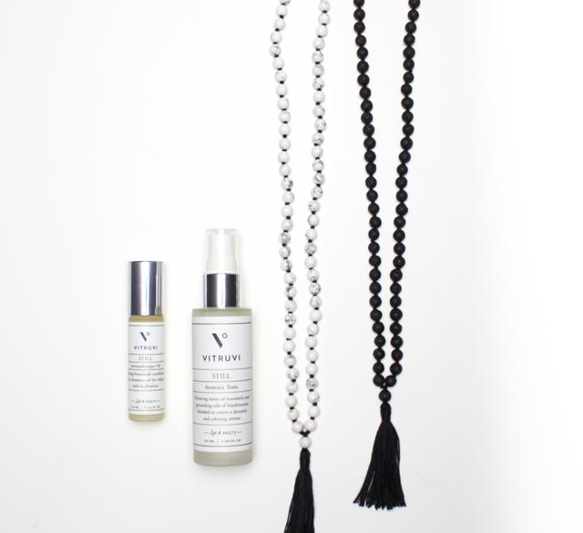 Vitruvi Still Aromatherapy Blends and Meditation Beads