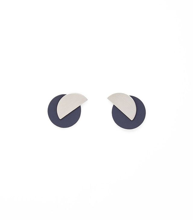 COS Magentic Shape Earrings