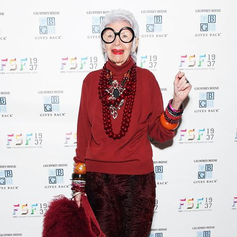 10 Holiday Party Accessory Ideas From Iris Apfel
