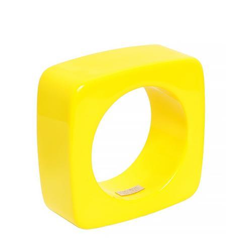 Oversized Square Perspex Cuff Bracelet