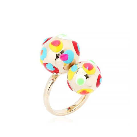Richard Pop Art Gold & Enamel Ring