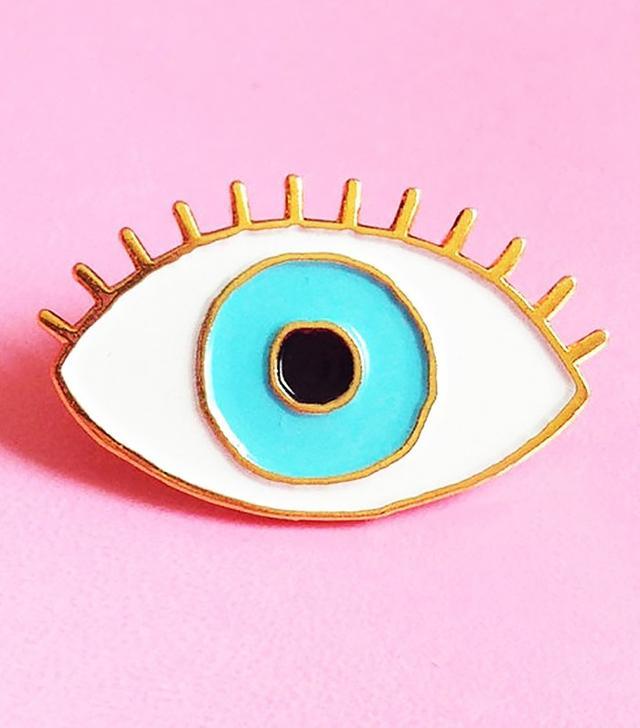 Coucou Suzette Evil Eye Brooch