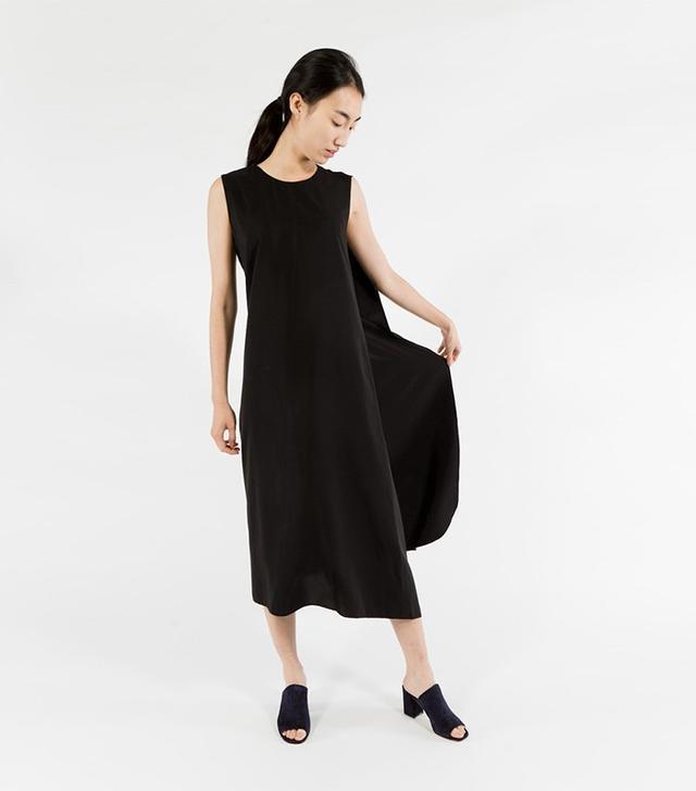 Kaarem Turn Overlap Maxi Dress