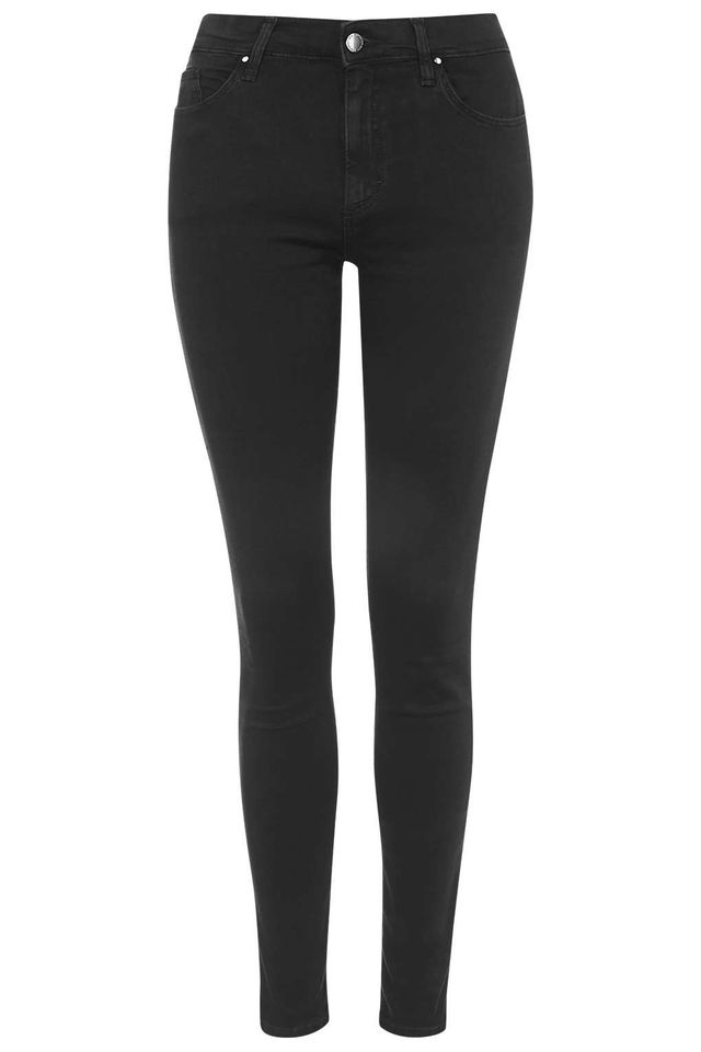 Topshop Washed Black Leigh Jeans