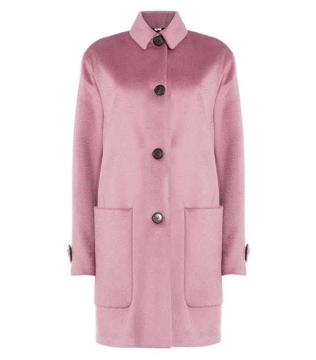Burberry London Llama Virgin Wool Coat