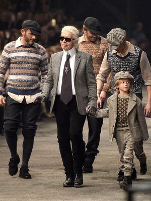 This Is How Karl Lagerfeld Defends the Luxury Industry