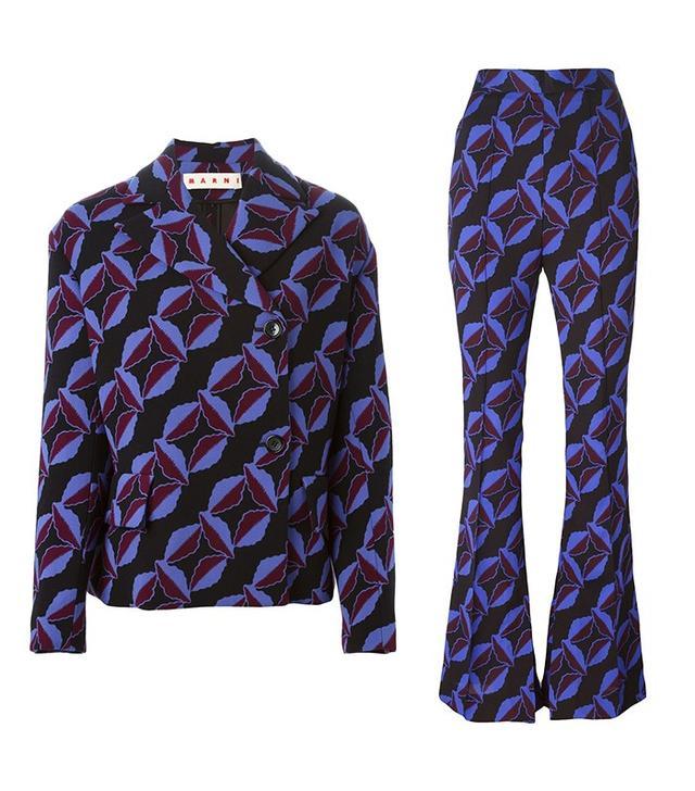Marni Arvum Printed Blazer