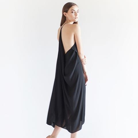 Handkerchief Draped Dress