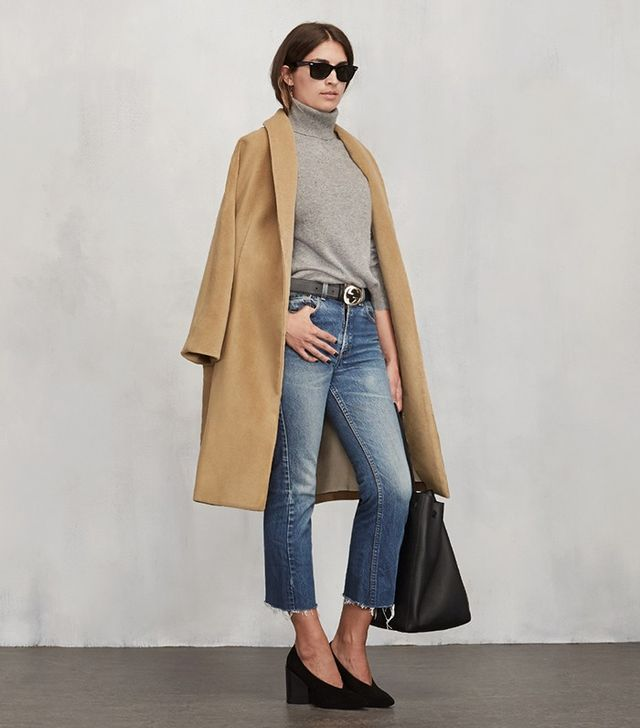 The Reformation Sabel Coat