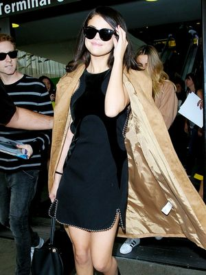 The Holiday Dress Trend Selena Gomez Loves