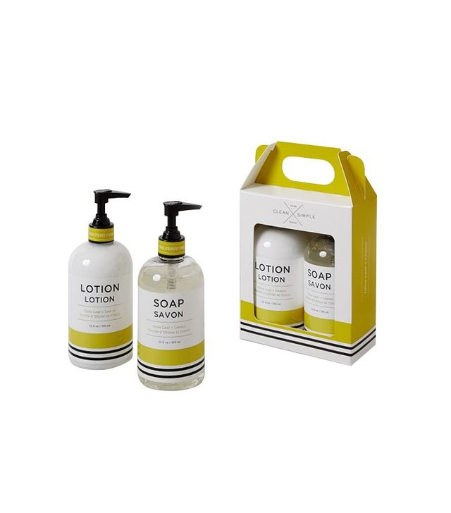Clean and Simple Hand Soap and Lotion Set