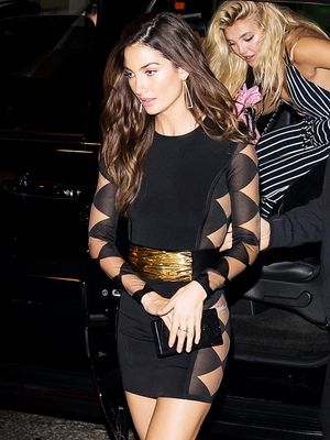 Lily Aldridge Inspires Our Weekend Night-Out Look