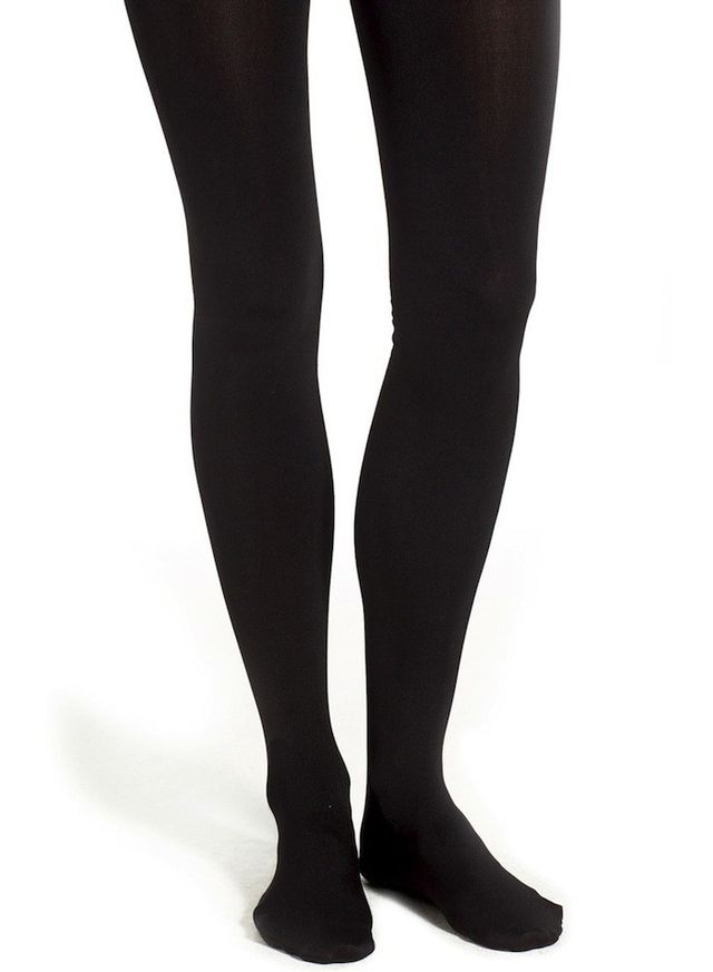 Capelli of New York Solid Fleece Lined Tights
