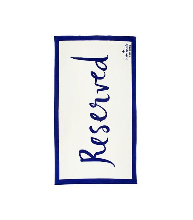 Kate Spade New York 'Reserved' Beach Towel