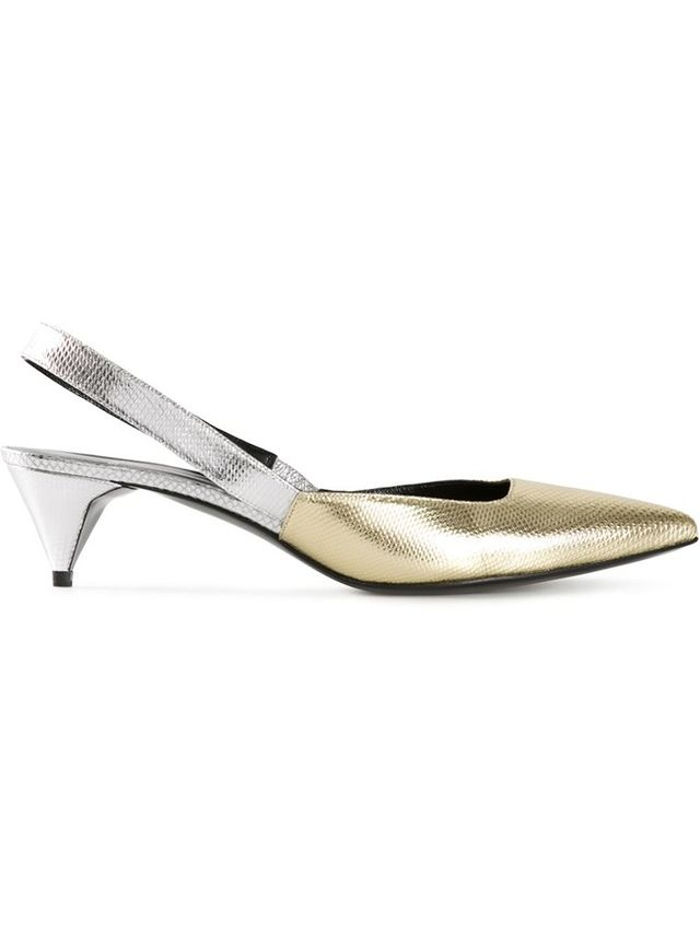 Pierre Hardy Kitten Heel Pumps
