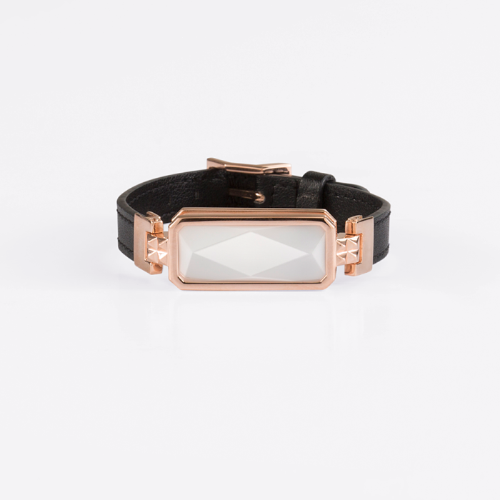 Rose Gold And White Bracelet by Altruis