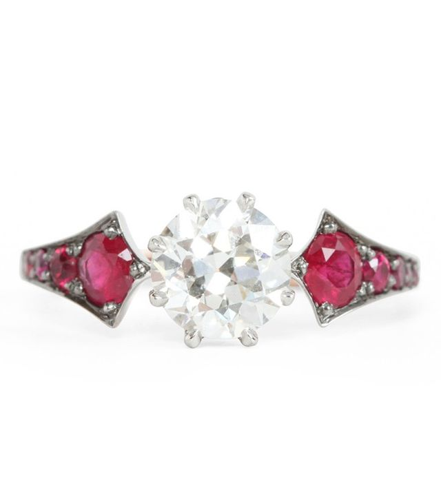 Erstwhile Ruby Wings Ring