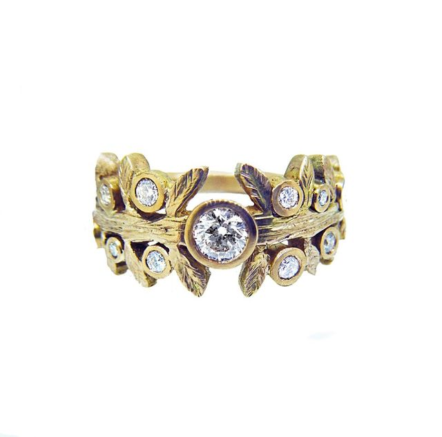 Melissa Harris Daisy Diamond Ring