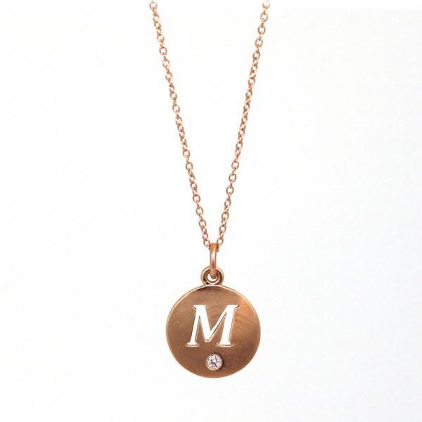 Melissa Harris Diamond Initial Pendant