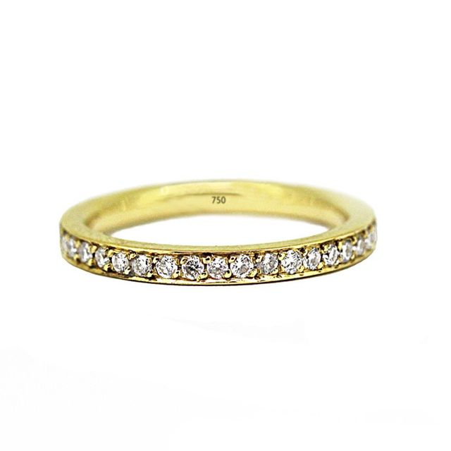 Melissa Harris Yellow Gold Eternity Band