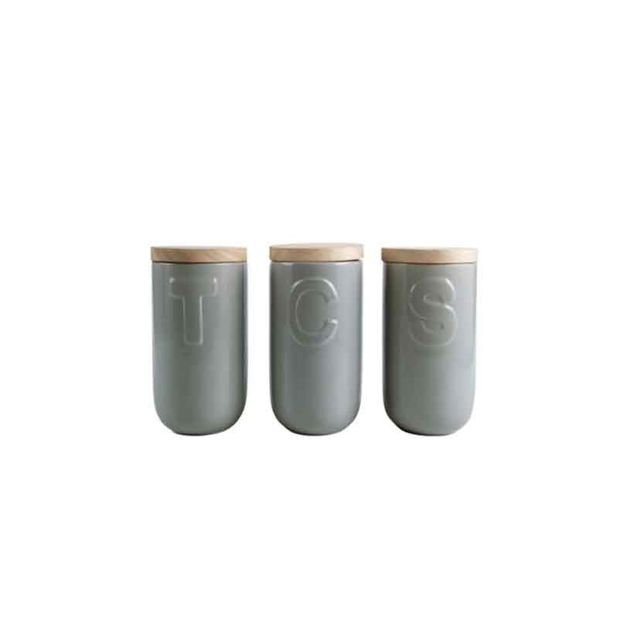 Domayne Studio Set of 3 Canisters