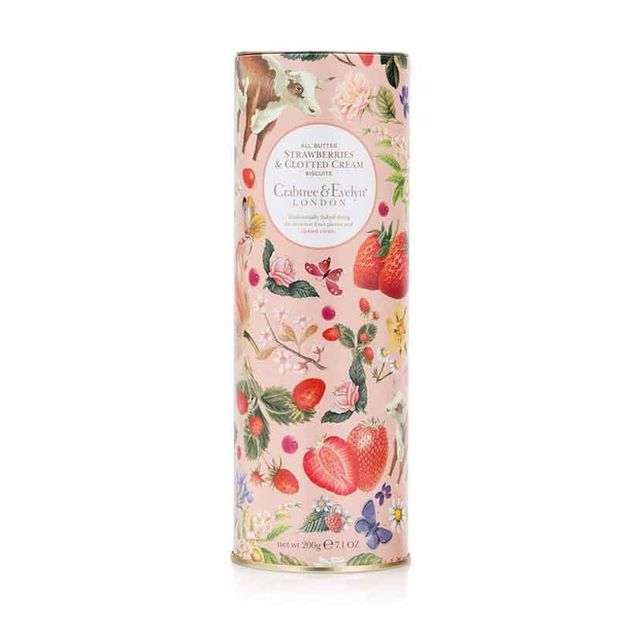 Crabtree & Evelyn All Butter Strawberry & Clotted Cream Biscuits 200g
