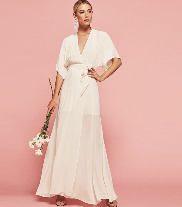 High-street wedding dresses: Reformation Winslow Dress
