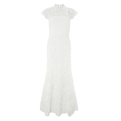 Emilie Lace Bridal Maxi Dress