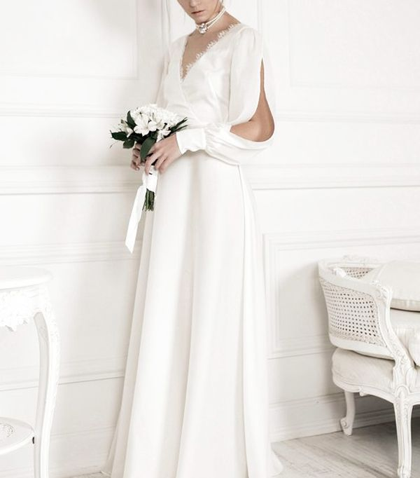 high-street wedding dresses: Maison Raquette Luna Gown