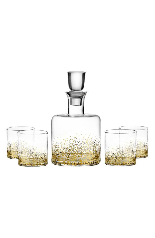 American Atelier Daphne Decanter & Whiskey Glasses