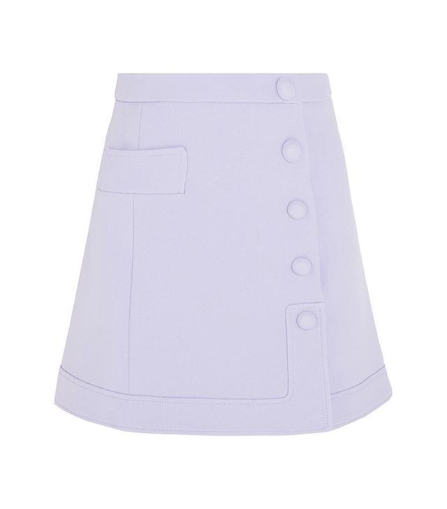 Carven Crepe Mini Skirt