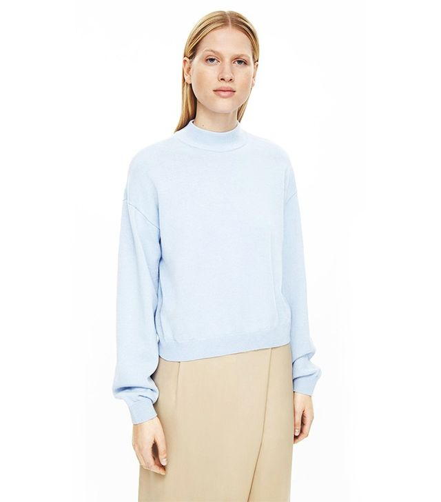 COS High-Neck Crop Jumper