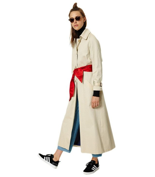Veda x Man Repeller Trench Coat
