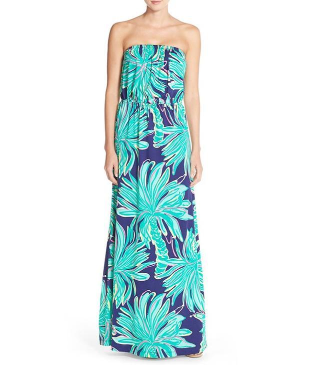 Lilly Pulitzer Marlisa Strapless Maxi Dress