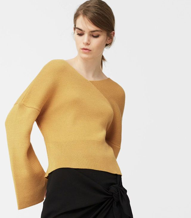Mango V-Neck Sweater