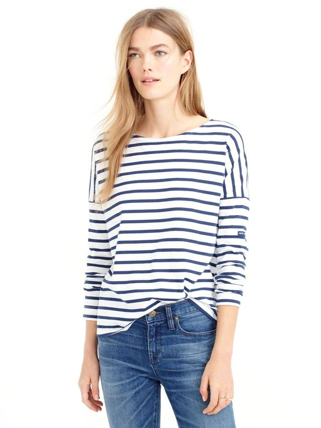 Saint James for J.Crew Slouchy T-Shirt