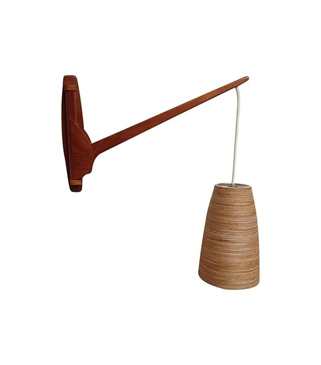 1stdibs Midcentury Modern Teak Wall Light