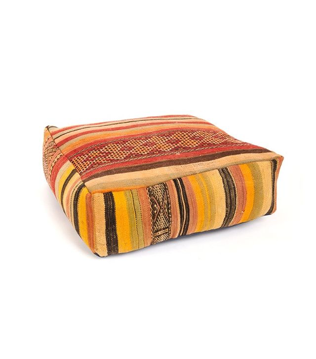 Nickey Kehoe Moroccan Vintage Cushion Pouf 350