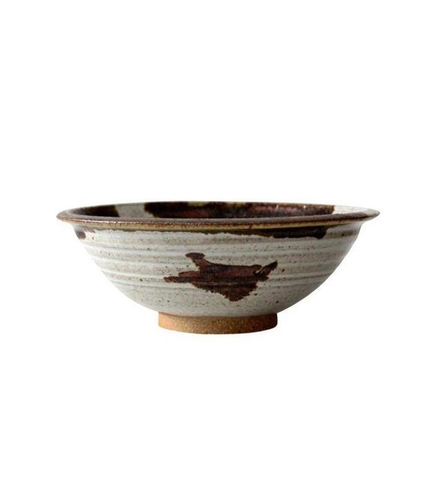 Len Stach Studio 1970s Pottery Bowl