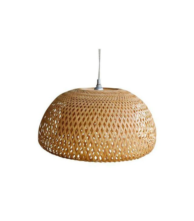Chairish Wicker Pendant Lamp