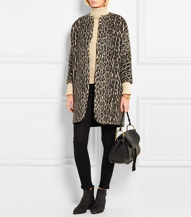 Isabel Marant Emmett Leopard-Print Coat