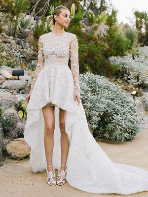 The Best Celebrity Wedding Dresses of 2015