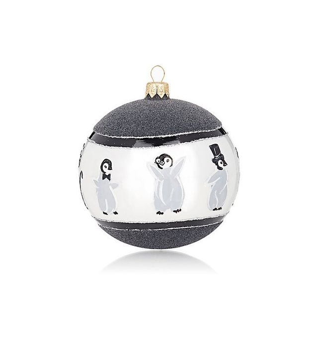Joy to the World Baby Penguin Ornament