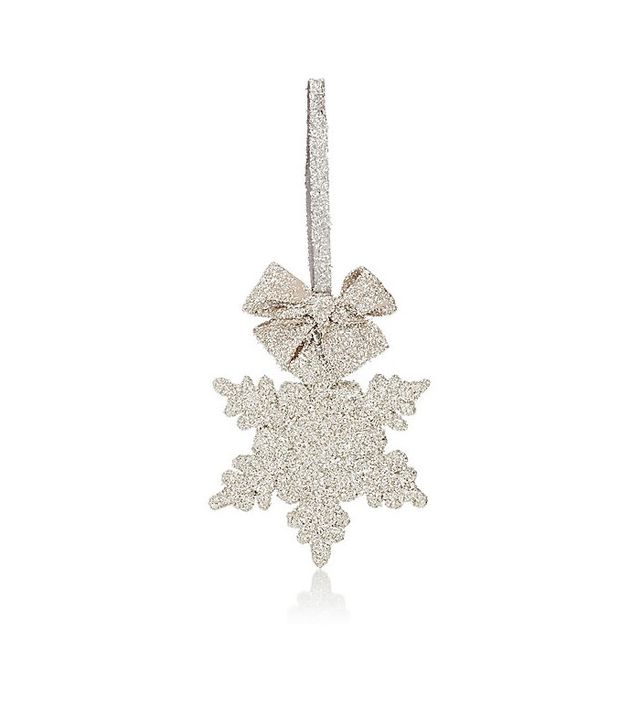 Sherri's Designs Glitter French Snowflake Ornament