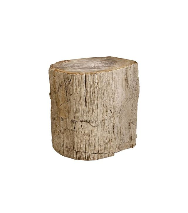 Benjamin Rugs and Furniture Petrified Wood Side Table