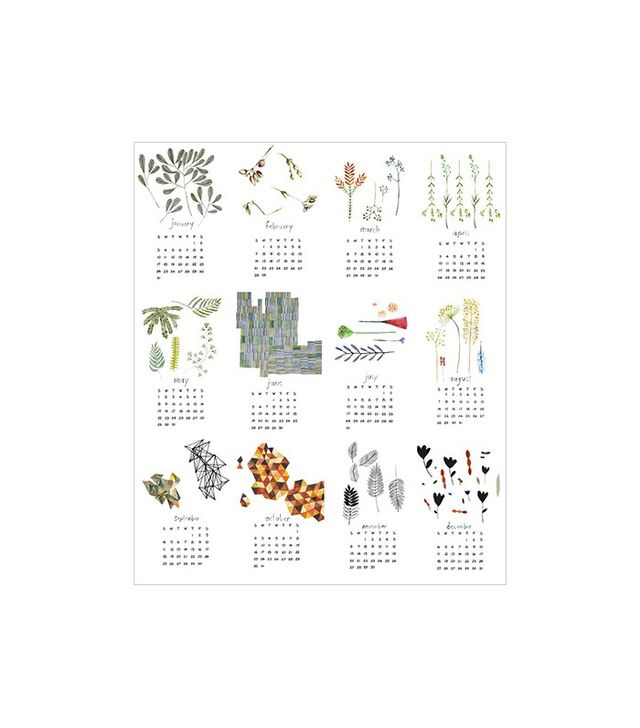 Bookhou 2016 Calendar