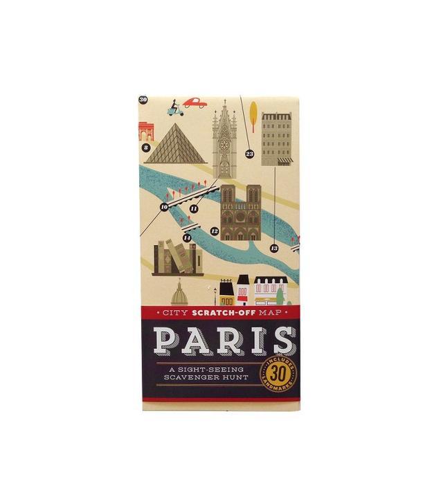 City Scratch-off Map: Paris by Christina Henry de Tessan