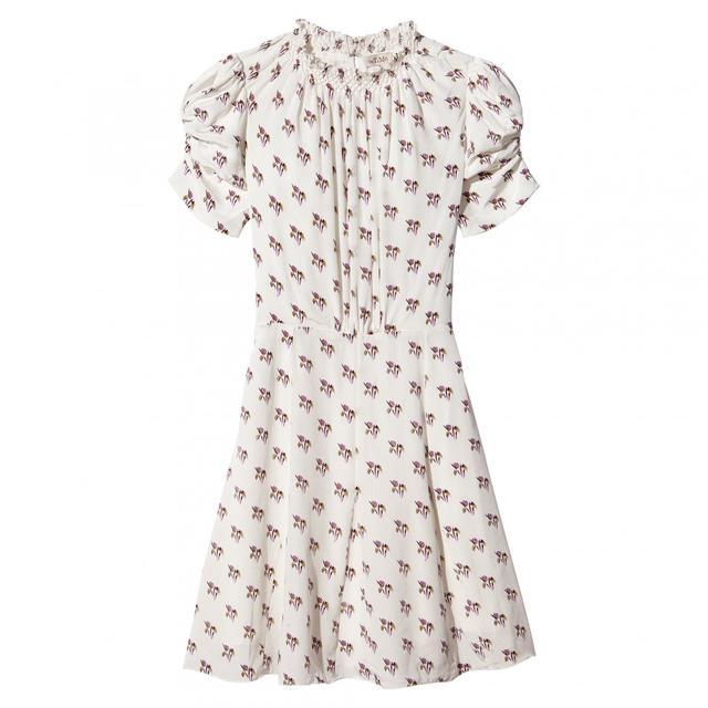 byTiMo Rosebud Printed Short Sleeve Dress